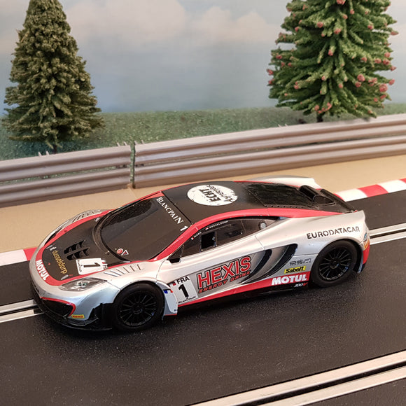 Scalextric 1:32 Car - C3382 McLaren MP4-12C GT3 HEXIS #1 #MWS
