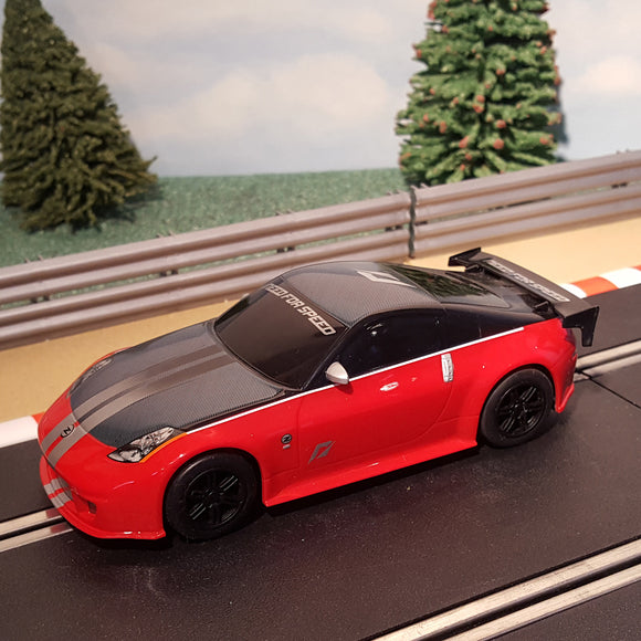 Scalextric 1:32 Drift Car - Red Need For Speed Nissan 350Z #A
