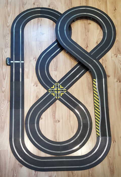 Scalextric Sport 1:32 Track Set - Double Figure-Of-Eight Layout #NB