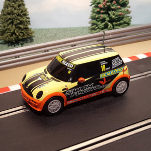 Scalextric 1:32 Car - Mini Cooper - Scalextric Team - Norman #10