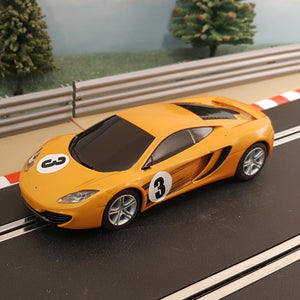 Scalextric 1:32 Car - Orange McLaren MP4-12C #3 #M