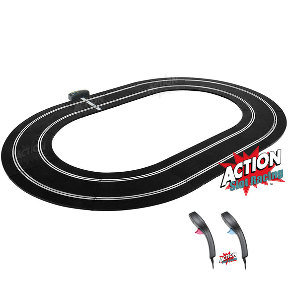 Scalextric Sport 1:32 Track Set Layout - Oval #E