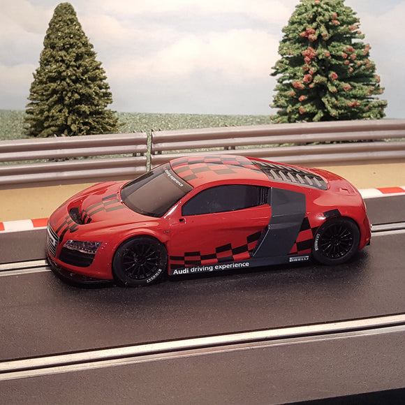 Scalextric 1:32 Car - Red & Black Audi R8 GT3 #MS
