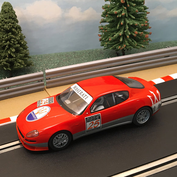 Scalextric 1:32 Car - C2688 Red Maserati Trofeo #25 #S