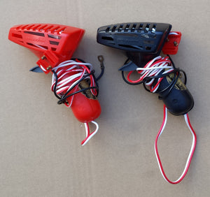 Scalextric Classic Controllers / Throttles - C297 Red & C298 Black