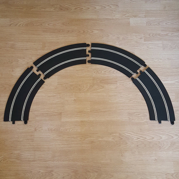 Scalextric Sport & Digital Track - C8297 'NNB' Radius 3 Banked Curves 45° x 4 #E