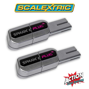 Scalextric C8333 - Wireless Dongle Pair Of Spark Plugs