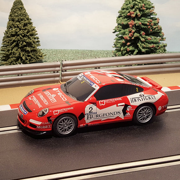 Scalextric 1:32 Car - Red Porsche 997 Teco #2 #S