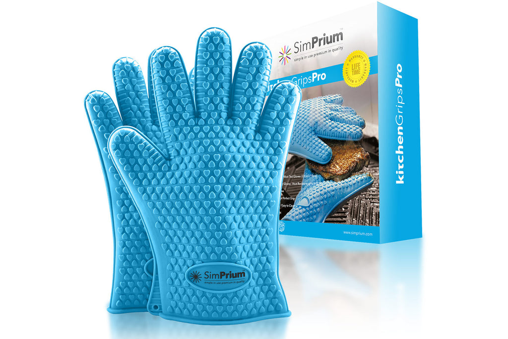 Kitchengripspro Silicone Oven Mitts Amp Bbq Gloves Simprium