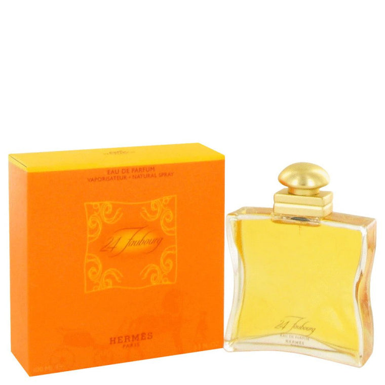 24 Faubourg By Hermes Eau De Parfum Spray 3.3 Oz - duzuu
