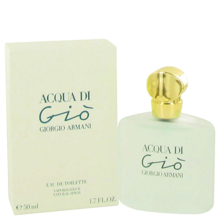 Acqua Di Gio By Giorgio Armani Eau De Toilette Spray 1.7 Oz - duzuu