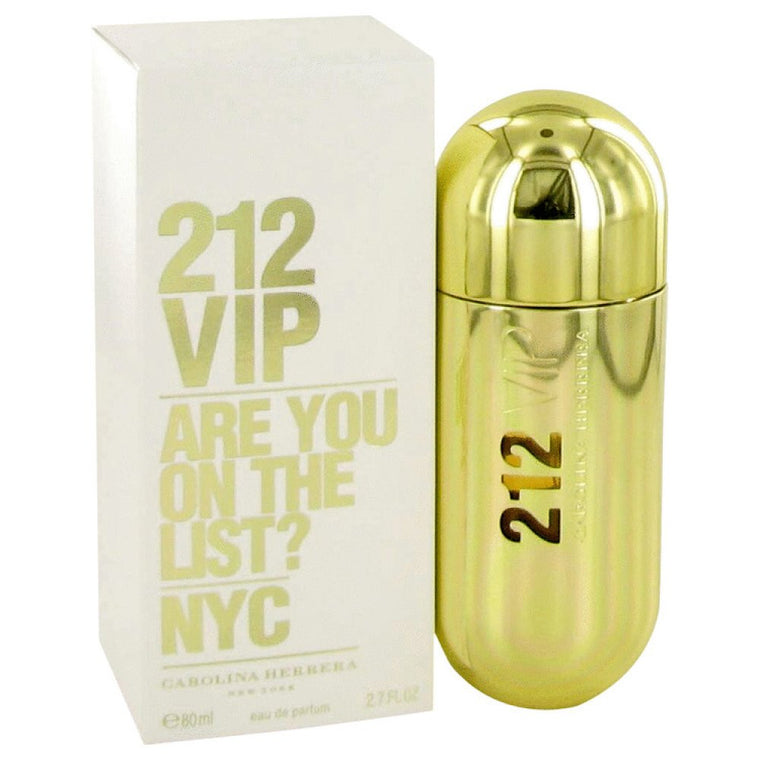 212 Vip By Carolina Herrera Eau De Parfum Spray 2.7 Oz - duzuu