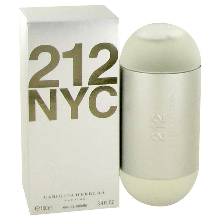 212 By Carolina Herrera Eau De Toilette Spray (new Packaging) 3.4 Oz - duzuu