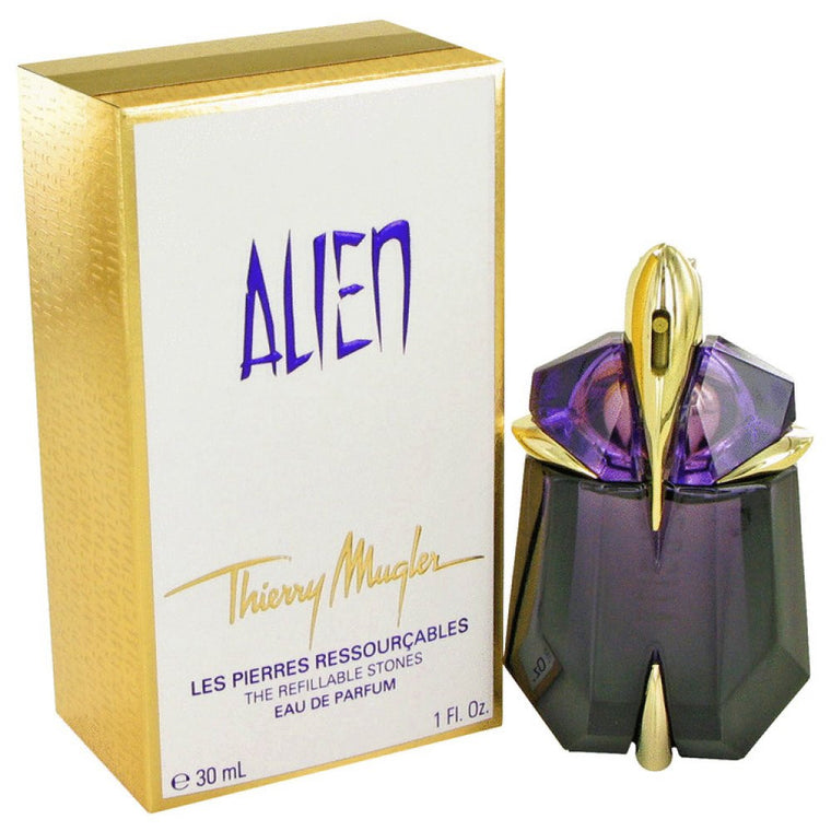 Alien By Thierry Mugler Eau De Parfum Spray Refillable 1 Oz - duzuu