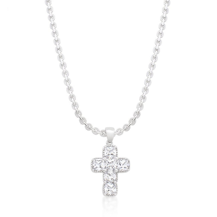 Contemporary Cross Pendant - duzuu