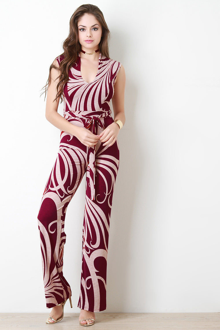 Bulgari Wide Leg Jumpsuit - duzuu