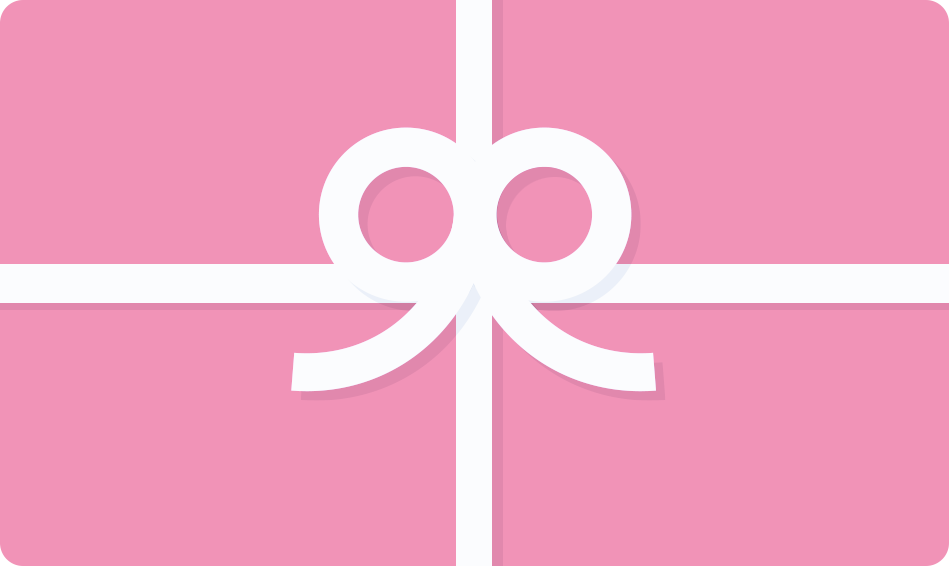 gift card pink paperplane