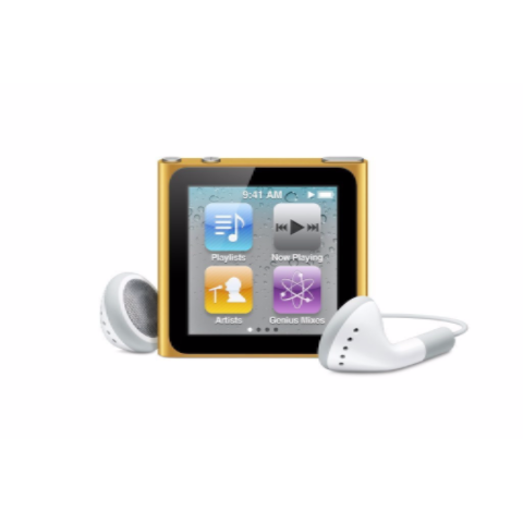 iPod Nano Orange 8GB (Used) 6th Generation