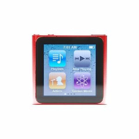 iPod Nano Red 8GB (Used) 6th Generation