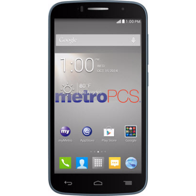 Alcatel One Touch Fierce 2 7040N Metro PCS Black 4GB (Used)