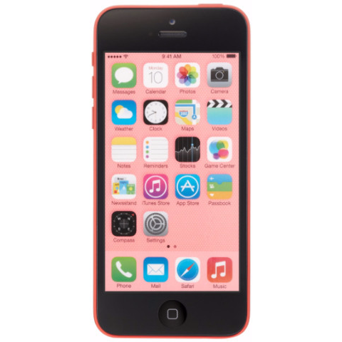 Apple iPhone 5c Unlocked Cellphone Pink 16GB (Used)