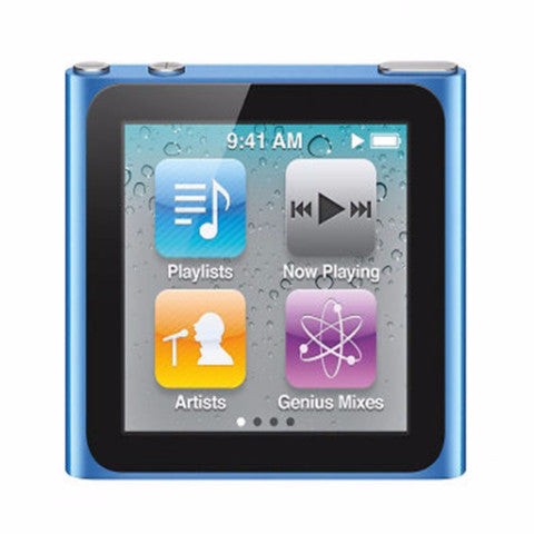iPod Nano Blue 8GB (Used) 6th Generation
