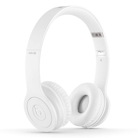Beats Solo HD White (Used) On-Ear Headphone