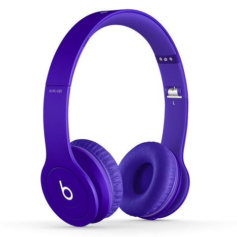 Beats Solo HD Purple (Used) On-Ear Headphone