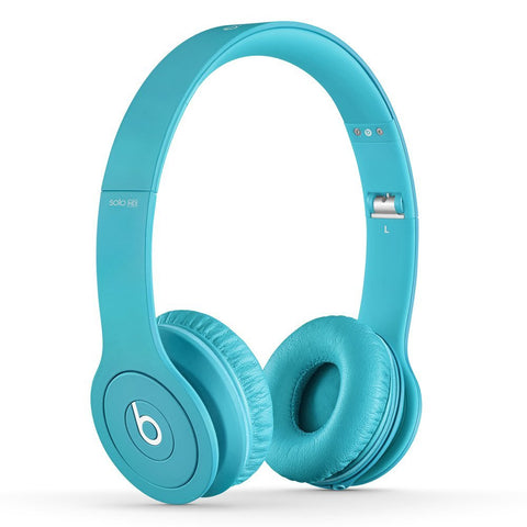 Beats Solo HD Light Blue (Used) On-Ear Headphone