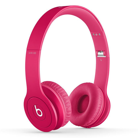 Beats Solo HD Pink (Used) On-Ear Headphone