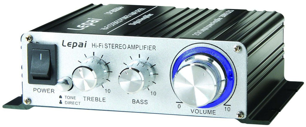 Lepai Tripath Class-T Hi-Fi Audio Mini Amplifier (Used) with Power Supply