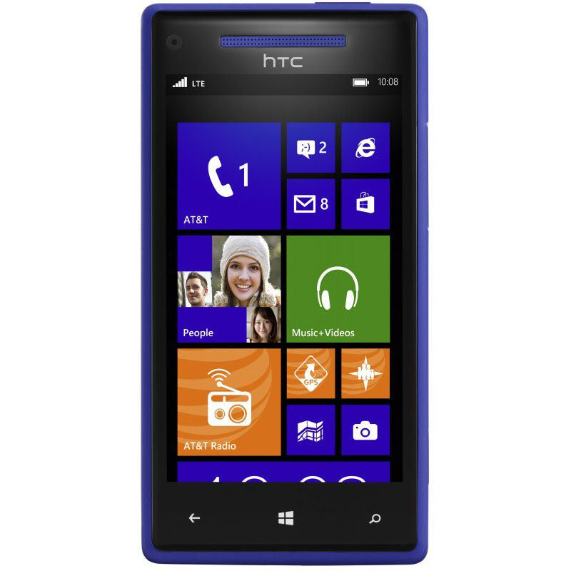 HTC Windows Phone 8X 6990LVW Light Blue Verizon   (Used)