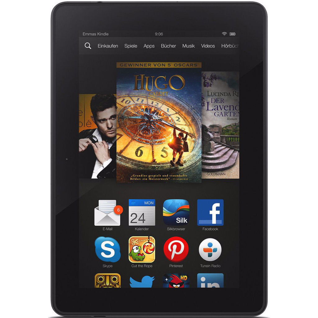 "Kindle Fire HDX 7"" Wi-Fi Black 16GB (Used)"