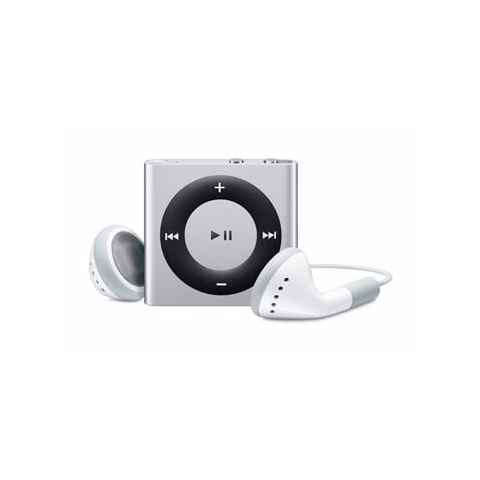 iPod Shuffle Silver 2GB (Used) 4th Generation