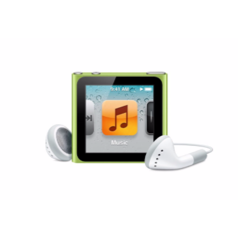 iPod Nano Green 8GB (Used) 6th Generation