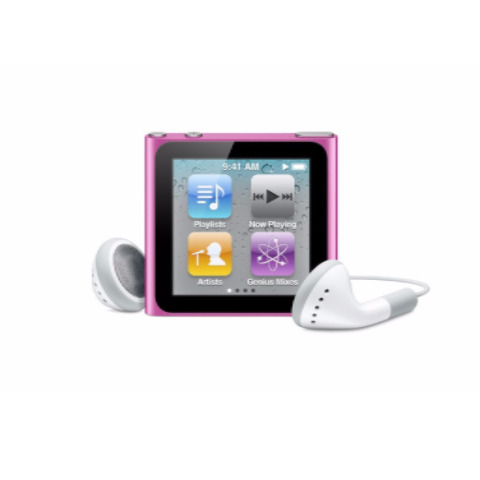 iPod Nano Pink 8GB (Used) 6th Generation