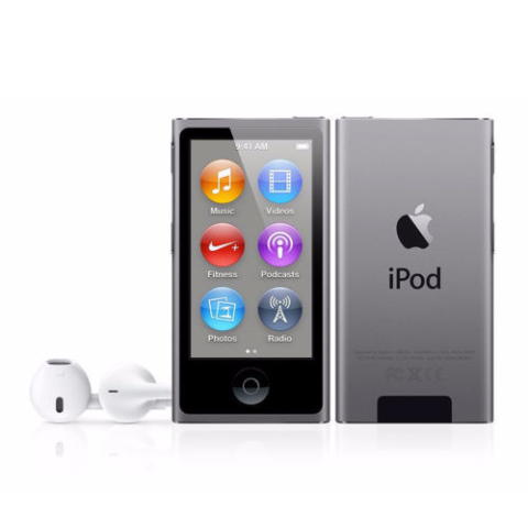 iPod Nano Grey 16GB (Used) 7th Generation