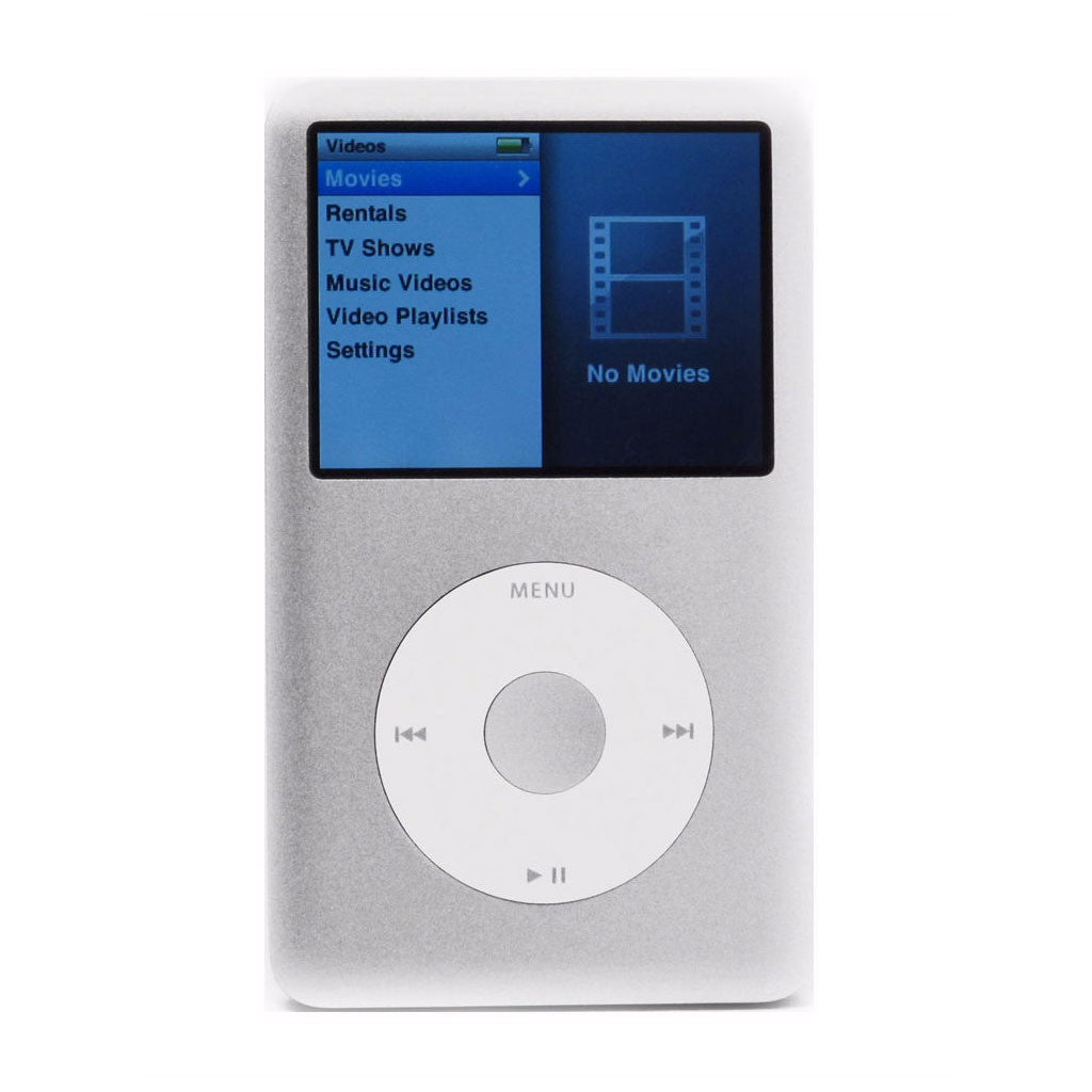 iPod Classic Silver 160GB (Used) 6th Generation