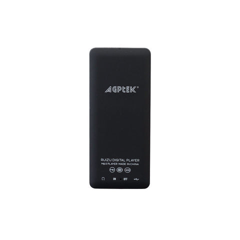 AGPtEK 2015 MP3 Lossless Sound Black 8GB (Used) Music Player