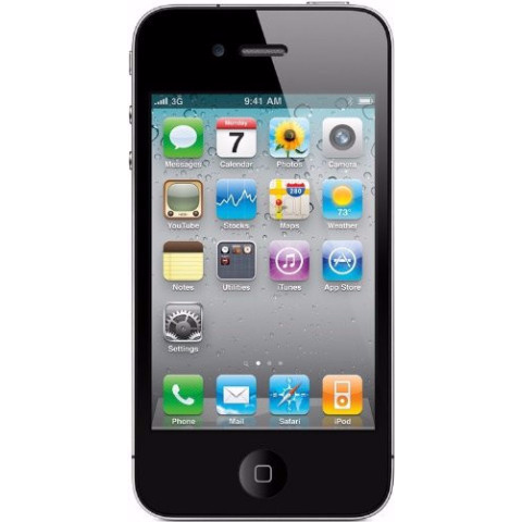 Apple iPhone 4 Straight Talk Black 8GB (Used)