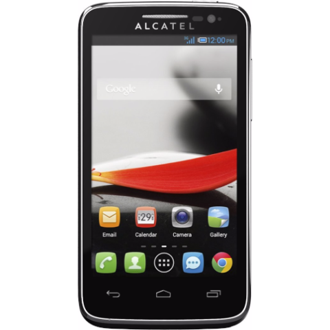 Alcatel One Touch Evolve 5020 Unlocked AT&T T-Mobile International Black 4GB (Used)