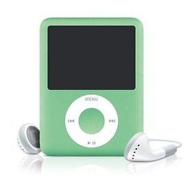 iPod Nano Green 8GB (Used) 3rd Generation