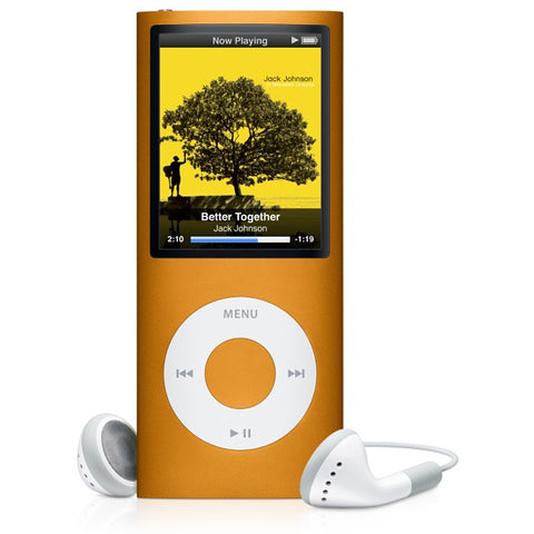 iPod Nano Orange 8GB (Used) 4th Generation