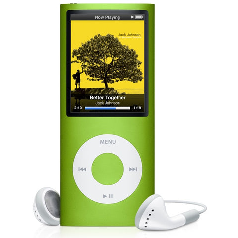 iPod Nano Green 8GB (Used) 4th Generation