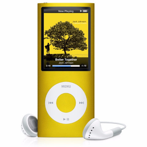 iPod Nano Yellow 8GB (Used) 4th Generation