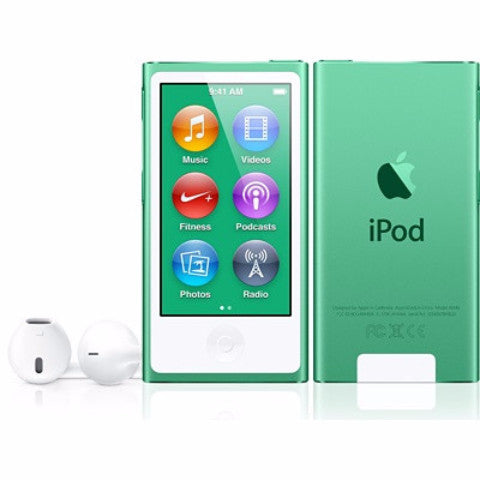 iPod Nano Green 16GB (Used) 7th Generation