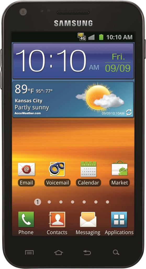 Samsung Galaxy S2 Epic 4G Touch Black Sprint  (Used)