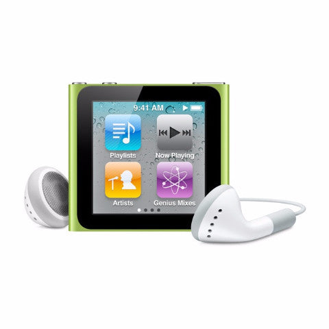 iPod Nano Green 16GB (Used) 6th Generation