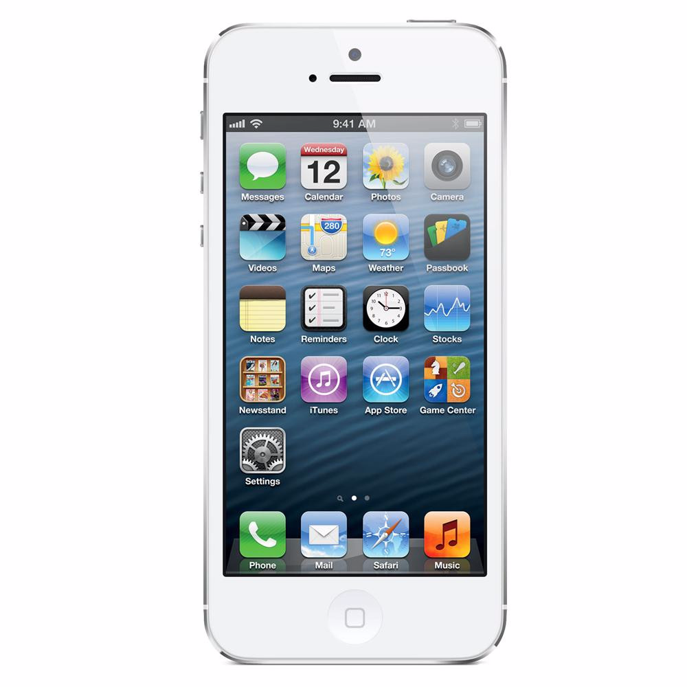 Apple Straight Talk iPhone 5 Prepaid White 16GB (Used) Smartphone