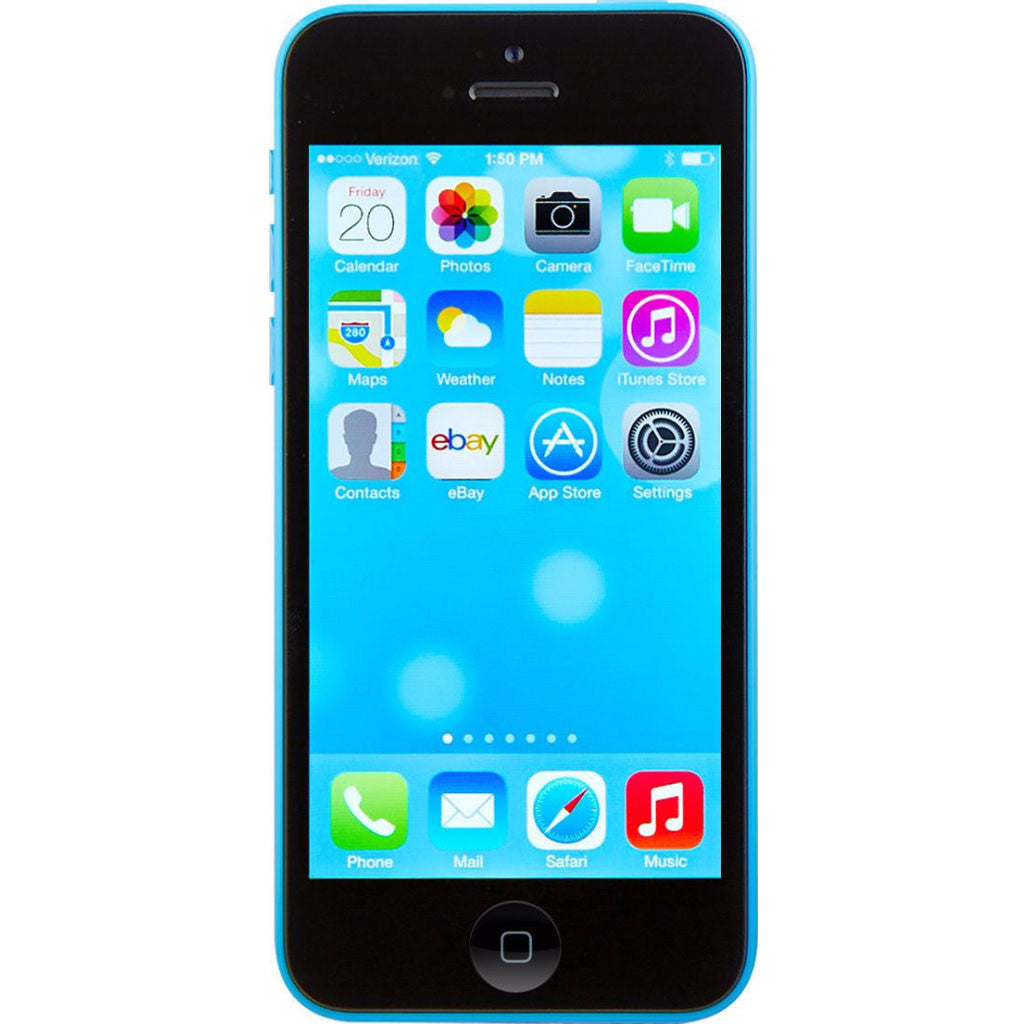 Apple iPhone 5c Factory Unlocked Cellphone Blue 8GB (Used) Smartphone